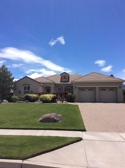 Reno Single Family Home Active/Pending-Loan: 8996 Chipshot Trail