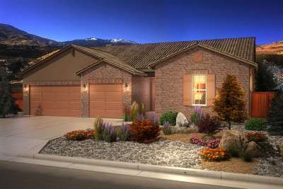 Reno Single Family Home New: 580 Gooseberry Drive #19