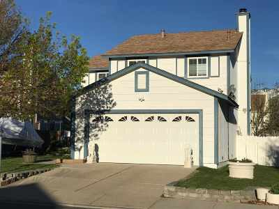 Carson City Single Family Home New: 2684 Blossom View Lane