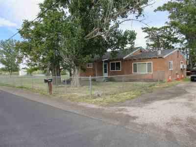 Fallon Single Family Home Active/Pending-Loan: 1220-1270 Gummow Drive