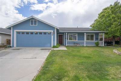 Carson City Single Family Home Back On Market: 829 Valley Crest