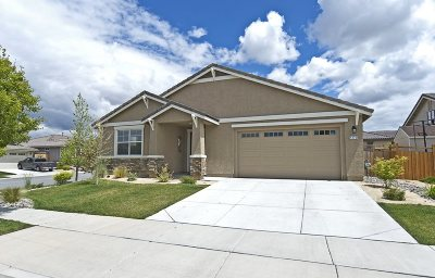 Sparks Single Family Home Active/Pending-Loan: 4270 Matter Court