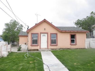 Winnemucca Single Family Home Active/Pending-Call: 221 N Bridge