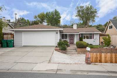 Washoe County Single Family Home Active/Pending-Loan: 1820 Severn