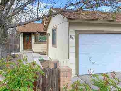 Reno Single Family Home Active/Pending-Loan: 6809 Flower St