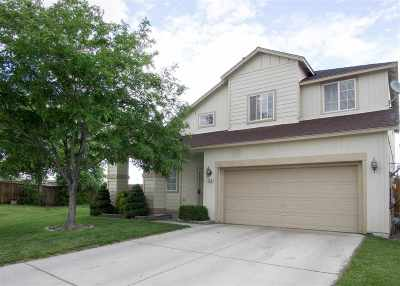 Fernley Single Family Home Active/Pending-Loan: 565 Stone Creek