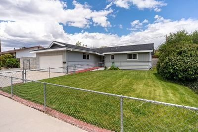 Carson City Single Family Home Active/Pending-Loan: 1911 Marie Drive