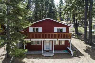 South Lake Tahoe CA Single Family Home For Sale: $649,000
