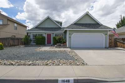 Carson City Single Family Home For Sale: 1648 Truckee