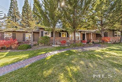 Reno Single Family Home Back On Market: 1414 Coronet Blvd