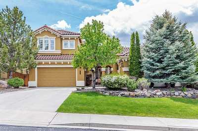 Reno Single Family Home For Sale: 2480 Range View Court