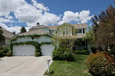 Reno Single Family Home Price Reduced: 6089 Stonecreek Drive