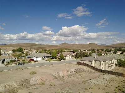 Sparks Residential Lots & Land Active/Pending-Loan: 5465 Vista Terrace