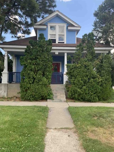 Reno Multi Family Home For Sale: 705 & 715 W 6th Street