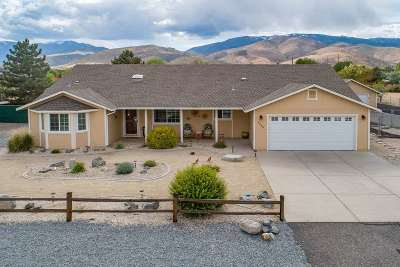 Carson City Single Family Home Active/Pending-Call: 4488 Hillview Drive