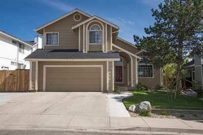 Reno Single Family Home For Sale: 3931 Regal Dr.