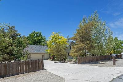 Carson City Single Family Home For Sale: 2150 Pinion Hills Drive