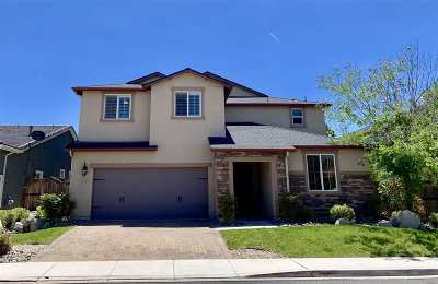 Reno Single Family Home For Sale: 1980 Angel Ridge Dr