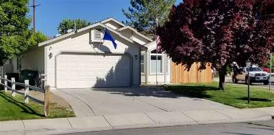Carson City Single Family Home Active/Pending-Call: 2491 Blue Haven Lane