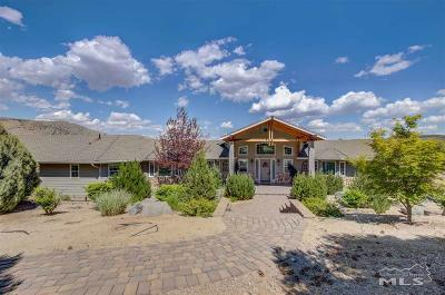 Gardnerville Single Family Home For Sale: 3257 Highland Way