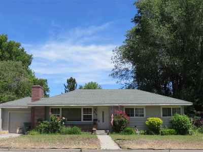 Carson City Single Family Home For Sale: 914 W King Street