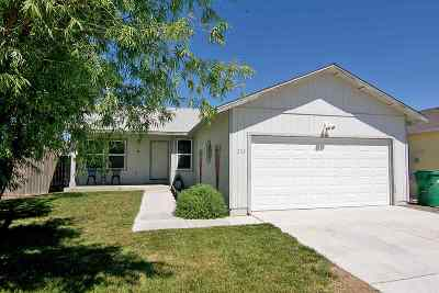 Fernley Single Family Home For Sale: 1253 Wadsworth Lane