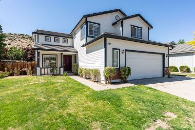 Reno Single Family Home Price Reduced: 5875 W Brookdale Drive