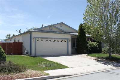 Reno Single Family Home For Sale: 18160 Cherryleaf Court