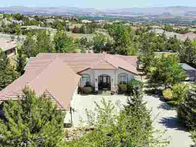 Reno Single Family Home For Sale: 10141 Indian Ridge Drive