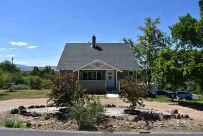 Washoe County Single Family Home For Sale: 8795 Reservoir St