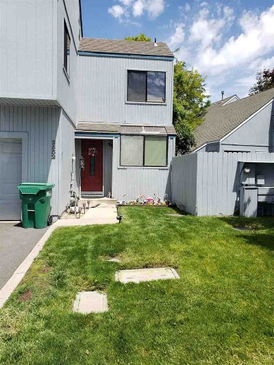 Sparks Condo/Townhouse For Sale: 2532 Garfield #2532