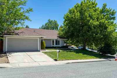 Reno Single Family Home Active/Pending-Loan: 3901 Kings Row