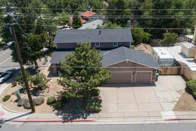 Reno Single Family Home New: 4750 Lakeside Drive