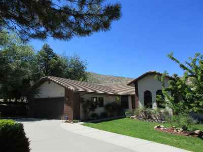 Carson City Single Family Home Active/Pending-Loan: 3834 Westwood Drive