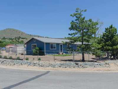 Washoe County Single Family Home Active/Pending-Loan: 4055 Woodcock