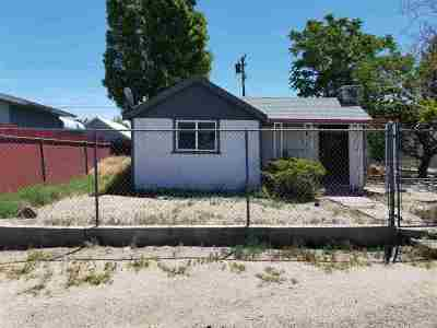 Single Family Home For Sale: 150 F Street