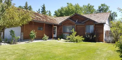 Gardnerville Single Family Home Active/Pending-Loan: 641 Long Valley Road