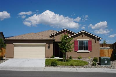 Carson City Single Family Home For Sale: 1095 Lahontan Drive
