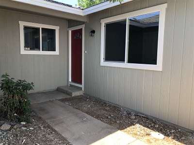 Reno Single Family Home New: 10028 Humite