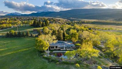 Washoe County Single Family Home For Sale: 3535 Fairview Rd.