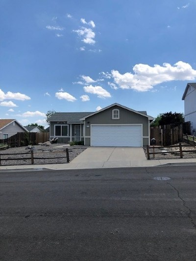 Washoe County Single Family Home New: 8440 Corrigan Way