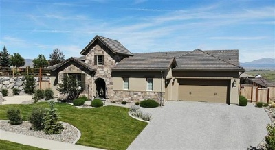 Genoa Single Family Home For Sale: 2796 Voight Canyon