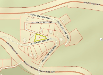 Reno Residential Lots & Land New: 20700 Old Mt. Rose Highway
