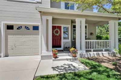 Washoe County Single Family Home New: 489 Corvallis Court