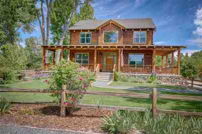 Gardnerville Single Family Home Active/Pending-Loan: 1506 Glenwood
