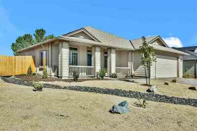 Fernley Single Family Home For Sale: 1268 Rainbow Lane