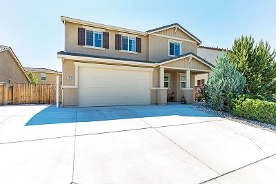 Reno Single Family Home New: 11510 Verazae Drive