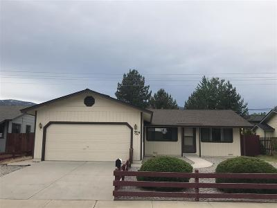 Carson City Single Family Home New: 3714 Imperial