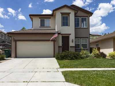Reno Single Family Home New: 1487 Mount Grant