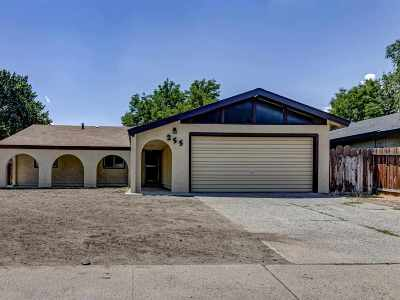 Sparks NV Single Family Home New: $270,000